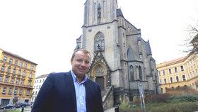 Europoslanec Miroslav Poche (ČSSD) v Praze