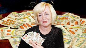 Slavnou kartářku Dagmar Kludskou zradilo srdce.