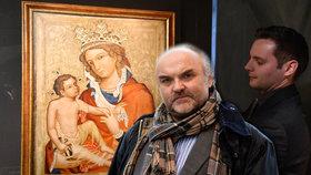 Ředitel Národní galerie Jiří Fajt odmítá vydat vzácný obraz církvi, dokud nevyčerpá všechny zákonné možnosti. Včetně dovolání k Nejvyššímu soudu.
