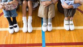Děti na tělocviku (ilustrační foto)