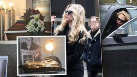Pohřeb designéra Bořka Šípka byl v mnohém zvláštní.
