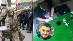 Zatímco na Ukrajině se opět demonstrovalo, syn ministra vnitra Avakova hrál v nelegálním kasinu?