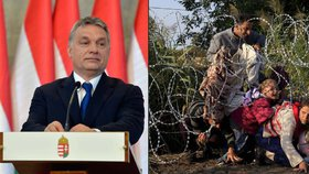 Viktor Orbán opět mluvil o uprchlických kvótách.