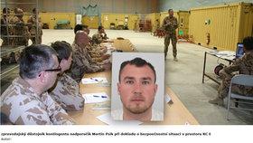 Na webu ministerstva obrany bylo možné identifikovat podle fotografie agenta Psíka.