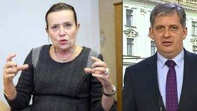 Legislativní rada vlády jednala o právním postavení šéfky ERÚ Vitáskové. Výsledek zveřejnil ministr Dienstbier.