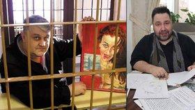 Luboš Xaver Veselý psal o mafiánovi knihu, kterou nedovolil vydat, a muže za mřížemi mohl dobře poznat.