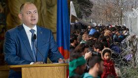 Michal Hašek se zlobí na Evropu kvůli jejímu přístupu k migrační krizi