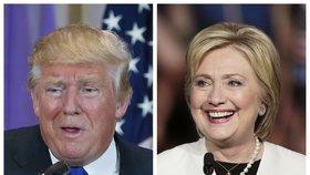 Trump a Clintonová potvrdili během superúterý role favoritů