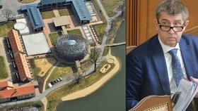 Brusel prý požaduje český audit na Babišovo Čapí hnízdo. Po Babišově ministerstvu financí.