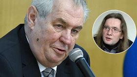Prezident Miloš Zeman již vede kampaň před další volbou, míní politolog Josef Mlejnek