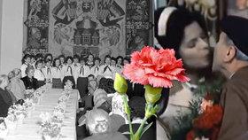 Rudé karafiáty, bonboniéry, přáníčka, froté ručníky či mýdlo. Takové dárky dostávaly ženy k MDŽ za socialismu.