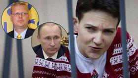 Kvůli ukrajinské pilotce Nadě Savčenkové se chytá Pavel Bělobrádek napsat Putinovi