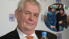 Prezident Zeman dostal anticenu mj. za výrok o Hance a Tonče