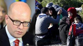 Premiér Bohuslav Sobotka informoval o jednání EU s Tureckem kvůli řešení migrační krize.