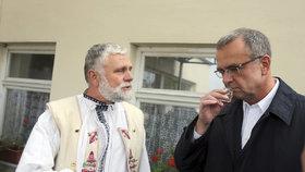 Miroslav Kalousek během kampaně TOP 09