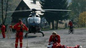 ÚOHS zastavil tendr na leteckou záchranku v Ústeckém kraji.