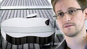 FBI nepotřebuje pomoc Apple: Je to ho*adina, říká Edward Snowden.