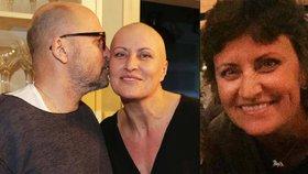 Celebrity, které bojují s rakovinou: Manželka Zdeňka Pohlreicha.