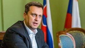 Šéf Slovenské národní strany Andrej Danko