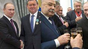 Jiří Maštálka (KSČM) převzal od Vladimira Putina během slavnostního ceremoniálu v Kremlu Řád přátelství.