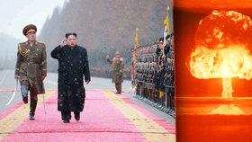 KLDR vyhrožuje vodíkovou bombou: Z povrchu světa vymažeme Manhattan.