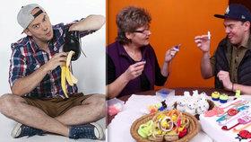 Zlepšováky Ládi Hrušky vycházející z lidové tvořivosti jsou obvykle dost šílené. Leštit boty slupkou od banánů, zapalovat svíčky špagetami nebo si udělat gril z rozbité pračky patří mezi ty nejbizarnější.
