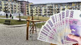 Trh s nemovitostmi v roce 2015 vzrostl, cena bytů stoupá. (Ilustrační foto)