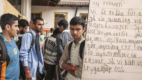 Švédové neposílají děti do školy. Bijí je tam prý ratolesti uprchlíků.