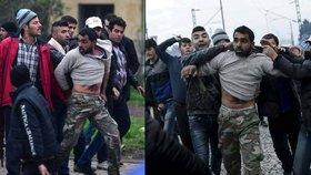 Migranti v uprchlickém táboře v Idomeni lynčovali muže, který prý zneužil sedmiletou holčičku.
