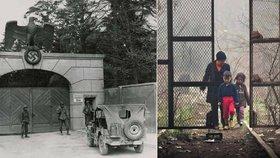 Řecký ministr šokuje: Uprchlický kemp Idomeni je jako Dachau.