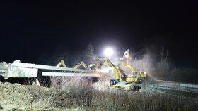 Rekonstrukce dálnice D1: Zbourejte mosty. Zn. Přes noc