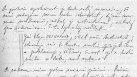 Hepnarová se o sexuální frustraci zmínila i v dopisech.
