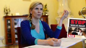 Zastánkyně inkluze, ministryně školství Kateřina Valachová