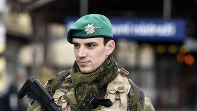 Česko hlídá armáda.