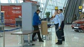 Kontroly na letišti v Bratislavě