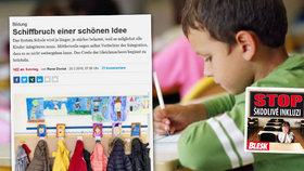 Deník Neue Zürcher Zeitung přinesl článek o tom, jak se se společným vzděláváním dětí vypořádává Švýcarsko.