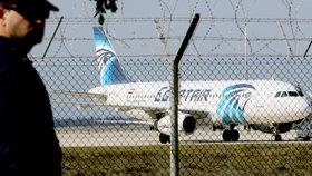 Unesené letadlo s 62 lidmi přistálo na Kypru: Mělo letět do Káhiry