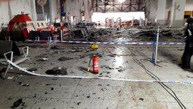 Obraz zkázy: Bruselské letiště Zaventem dva dny po teroristických útocích