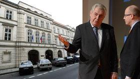 Bohuslav Sobotka označil problémy kolem dluhu advokátovi za Lidový dům za pozůstatek po předchůdcích. Smlouvu s právníkem Altnerem podepsal Miloš Zeman.