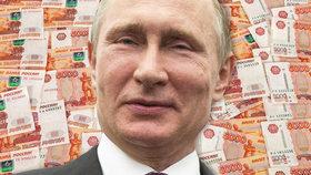 Putin na seznamu není, přesto byl okamžitě spojen s kauzou Panama Papers.