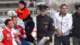 Policisté zadrželi bývalého prvoligového brankáře Jiřího Vosyku. Jeho jméno uvádíme celé proto, že se jedná o veřejně činnou osobu.