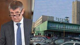 Špatnou situací kolem OKD se zabývá i ministr financí Andrej Babiš
