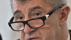 Vicepremiér a ministr financí Andrej Babiš (ANO)
