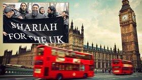 Výsledky průzkumu mezi britskými muslimy: Gaye by uvěznili, zavedli šaríu a povolili mnohoženství.
