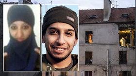Muslimka naprášila policii, kde se radikálové z ISIS nacházejí. Podepsala tak ortel smrti nad svou kamarádkou Hasnou Aitboulahcen (vlevo) i jejím bratrancem Abdelhamidem Abaaoudem.