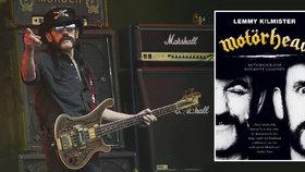 Lemmy Kilmister už není mezi živými, jeho život ale připomíná kniha Motörhead - Autobiografie rockové legendy.