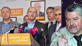 ČSSD neuznává pohledávku svému někdejšímu advokátovi Altnerovi.