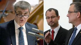 Andrej Babiš ve Sněmovně čelil kritice kvůli novele zákona o hazardu. Pustili se do něj Kalousek i Farský