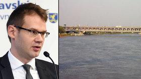 V Dunaji našli tělo: Může jít o ekonoma Martina Filka