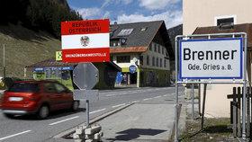 Rakousko-italská hranice u Brennerského průsmyku